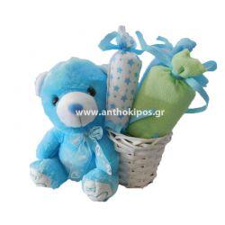 Μωρότουρτα για νεογέννητο αγοράκι