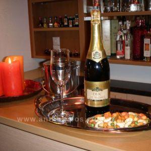 Ποτό Φιάλη Αφρώδης Οίνος (Duc De Valmer)