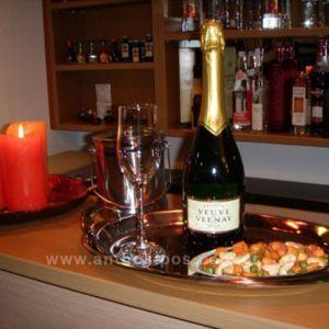 Ποτό Φιάλη Αφρώδης Οίνος (Veuve Du Vernay)