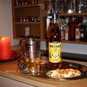 Ποτό Φιάλι Metaxa 3 Αστέρια Κονιάκ