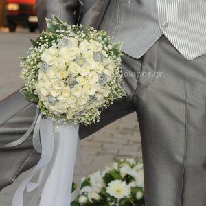 Νυφική Ανθοδέσμη-Μπουκέτο  Γάμου