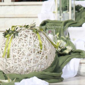 Στολισμός Εκκλησίας Γάμου Έξω