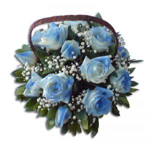Σύνθεση με λουλούδια για αγόρι