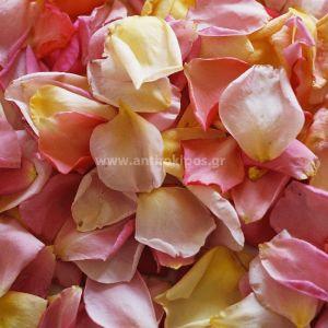 Ροδοπέταλα απο τριαντάφυλλα