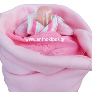 Μωρότουρτα για νεογέννητο κοριτσάκι