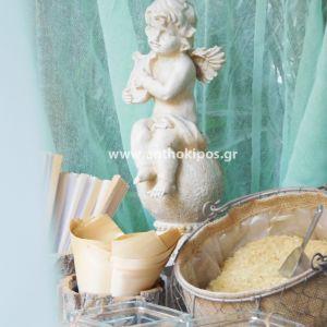 Βιτρίνα Γάμου με Θαλασσόξυλα