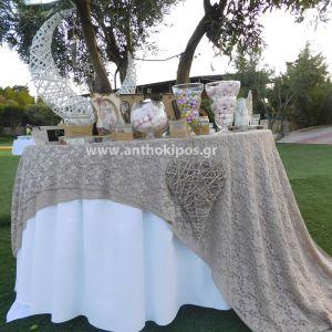 Δεξίωση Γάμου - Τραπέζι ευχών