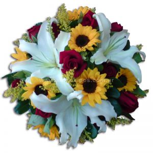 Flowery arrangement for events