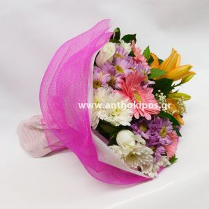Fabulous colors bouquet