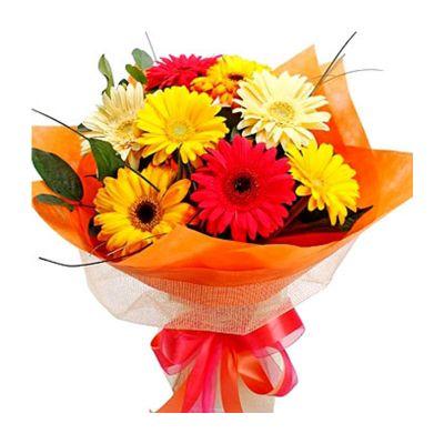 Bouquet with gerberas